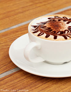 Coffee is good for Business, networking, building relationships (Photo)