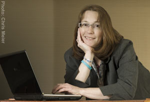 Cathy Watters, business editor (Photo by Chris Meier)