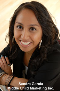 Sandra Garcia, Publicist and Owner of Middle Child Marketing (Photo)