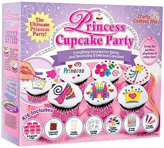 Princess Cupcake Kit, good for parties.