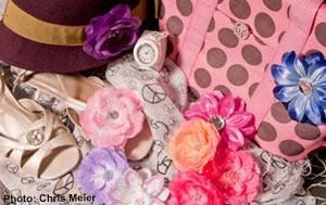 Giveaway - Free - Accessories from Glamheiress Kids (Photo: Chris Meier)