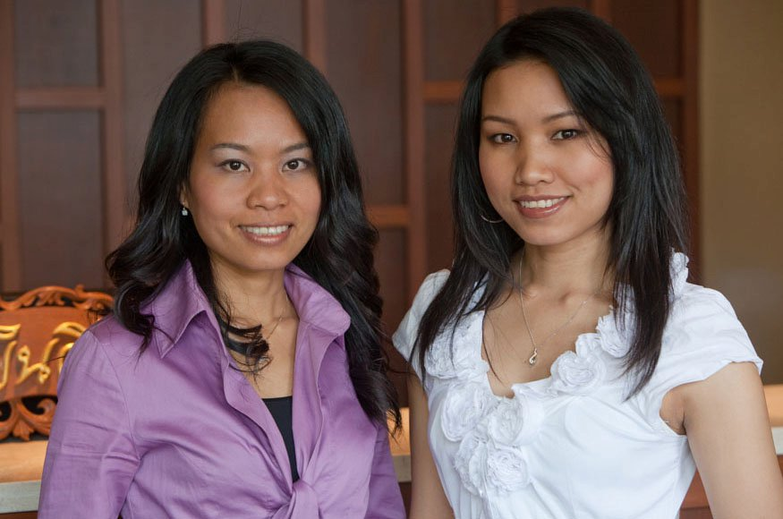 Neata Auttapong Goutier and Nisita Auttapong of Sabai Thai Spa (Photo)