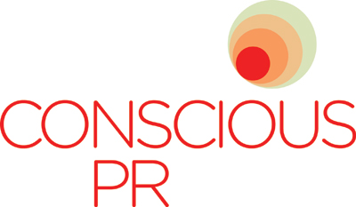 Logo for Conscious PR, a brand of Middle Child Marketing Inc.