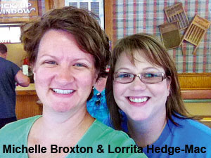 Michele Broxton & Lorrita Hedge-Mace (Photo: Michele Broxton)
