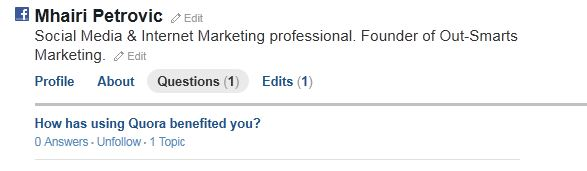 How to ask a question on Quora (photo)