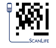 ScanLife is an app for reading QR codes.