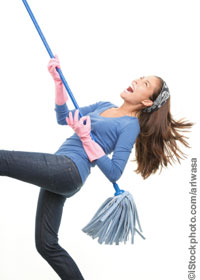 Spring Cleaning for Your Small Business (Photo)