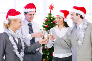 Christmas toast, networking etiquette