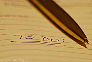 Should you make a to-do list, or a to-not-do list?