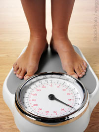 Some scales can measure weight and body fat percentages.